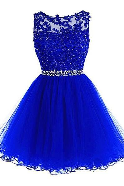 Cute Tulle Homecoming Dress,Lace Homecoming Dress,Fitte Prom Dress,Short Homecoming Dress,Sweet 16 Dress For Teens