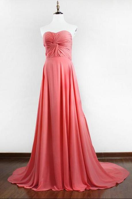 Charming Chiffon Bridesmaid Dresses , long Bridemsaid Dress,Formal Floor Length Evening Dresses